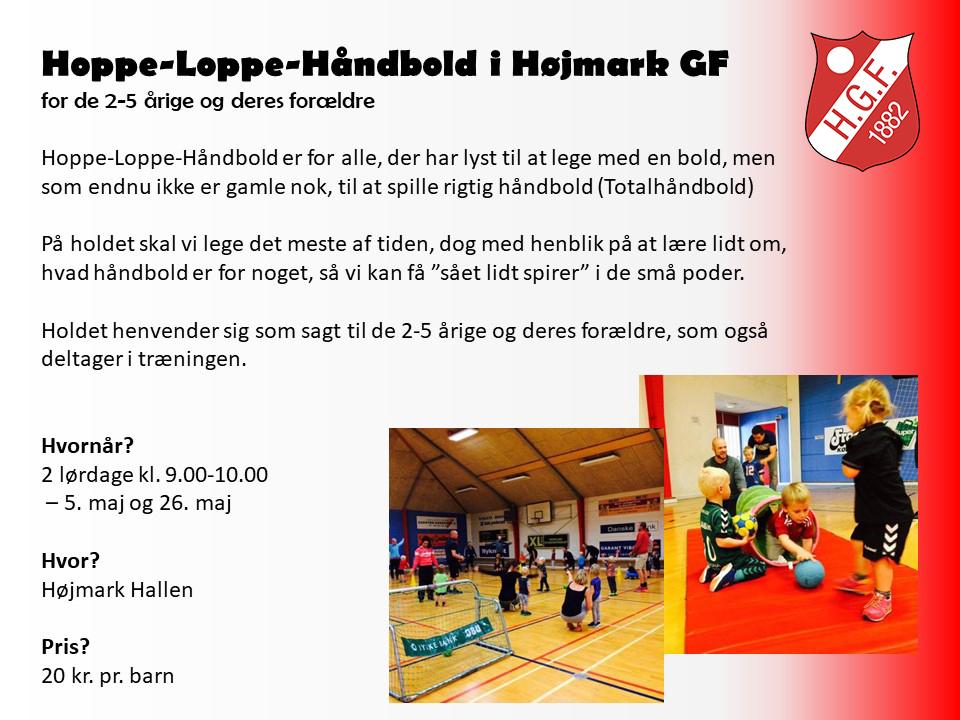 Hoppe Loppe Håndbold i Højmark GF