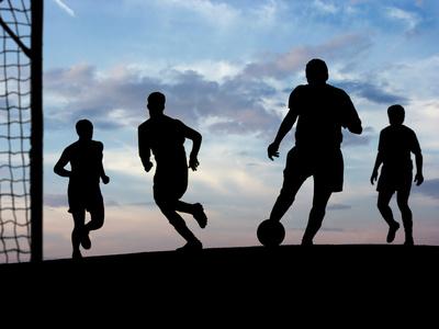 Fodboldstævne i klynget