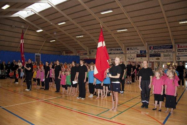 Gymnastikopvisning i Lem Boldklub