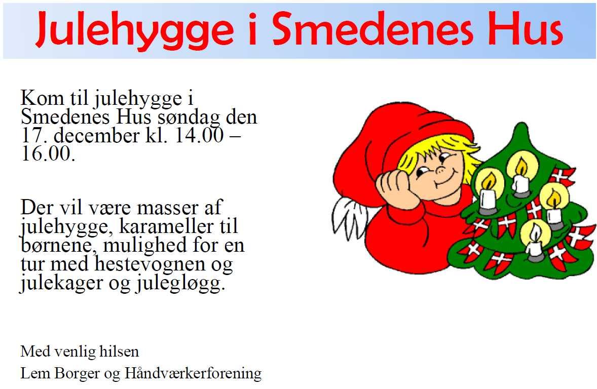 Julehygge i Smedenes Hus