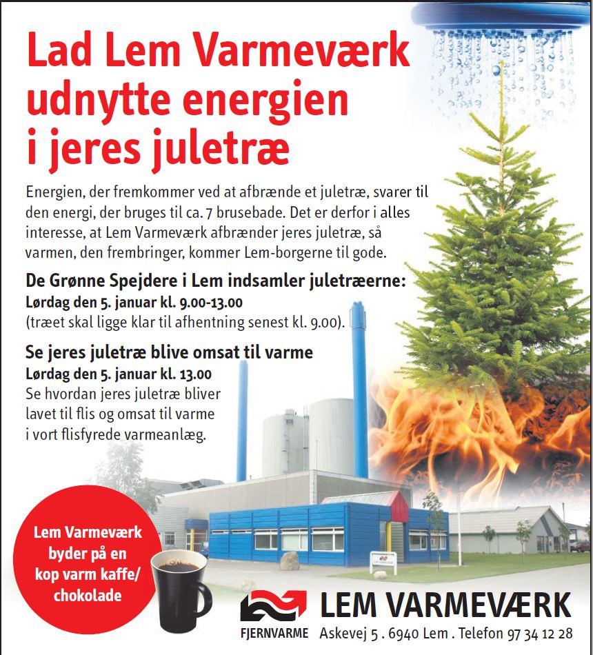 Lad dit juletræ blive til varme